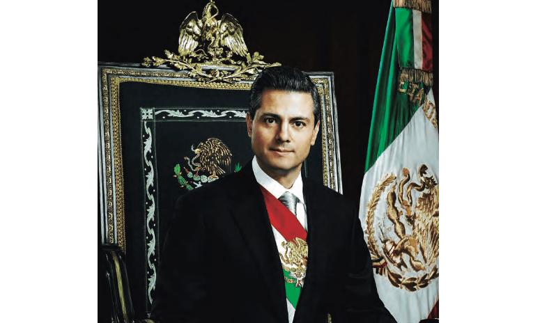 Foto del Presidente Peña Nieto para su Quinto Informe de Gobierno