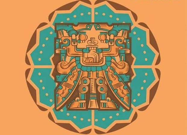 detalle del cartel de la Fiesta de las culturas indígenas