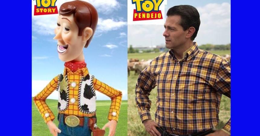 meme de Peña nieto y Toy Story