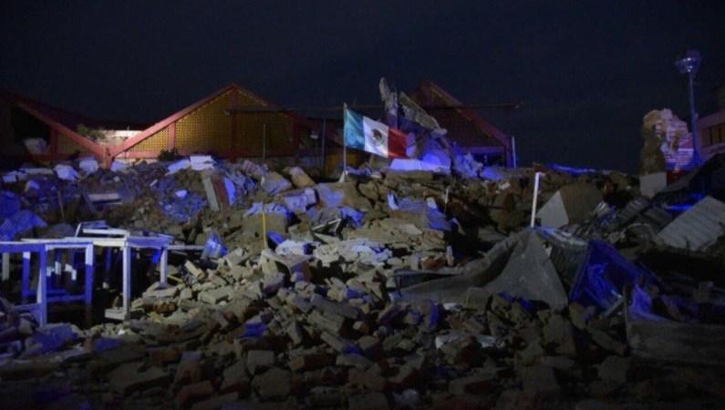 sismo en Juchitán, Oaxaca