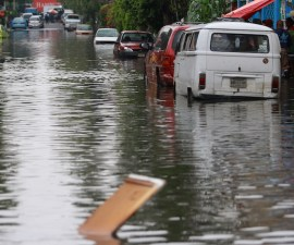 Lluvia en la Ciudad de México