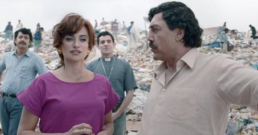 Javier Bardem y Penélope Cruz en Loving Pablo
