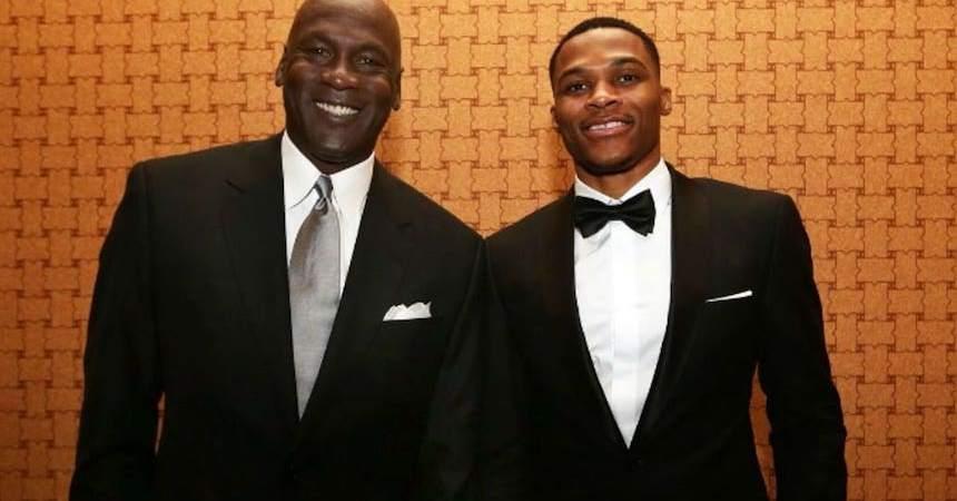 Michael Jordan y Russell W.