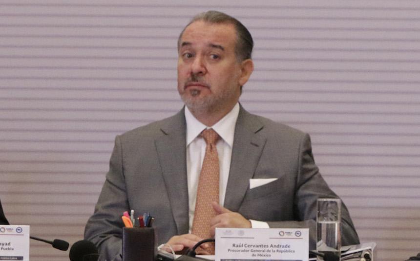 Raúl Cervantes, fiscal carnal