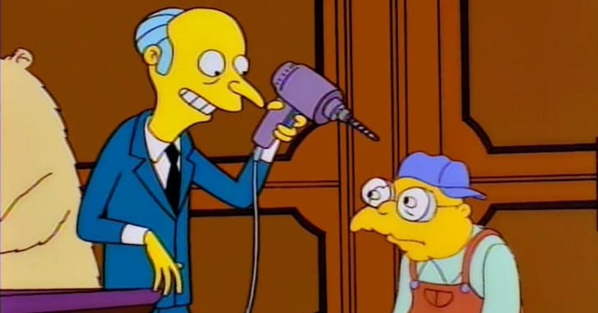 Sr Burns - Los Simpson