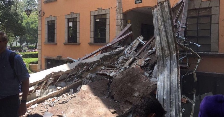 Tecnológico de Monterrey después del sismo
