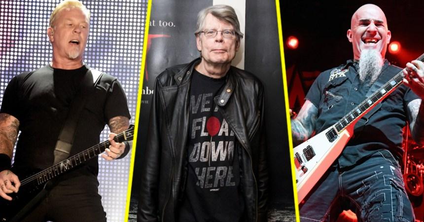Esto pasa cuando un cover de Metallica involucra a Stephen King y Anthrax.