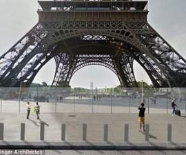 Proyecto muro en Torre Eiffel