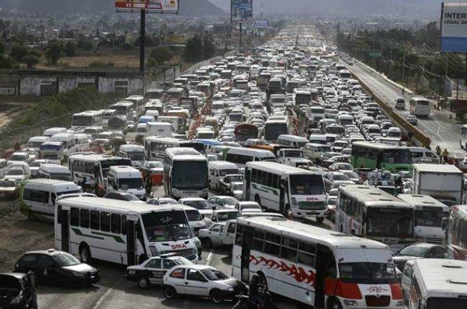 Transporte público en el Estado de México