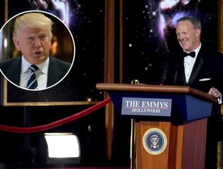 esta fue la broma que el ex secretario de prensa le hizo a trump en los emmy