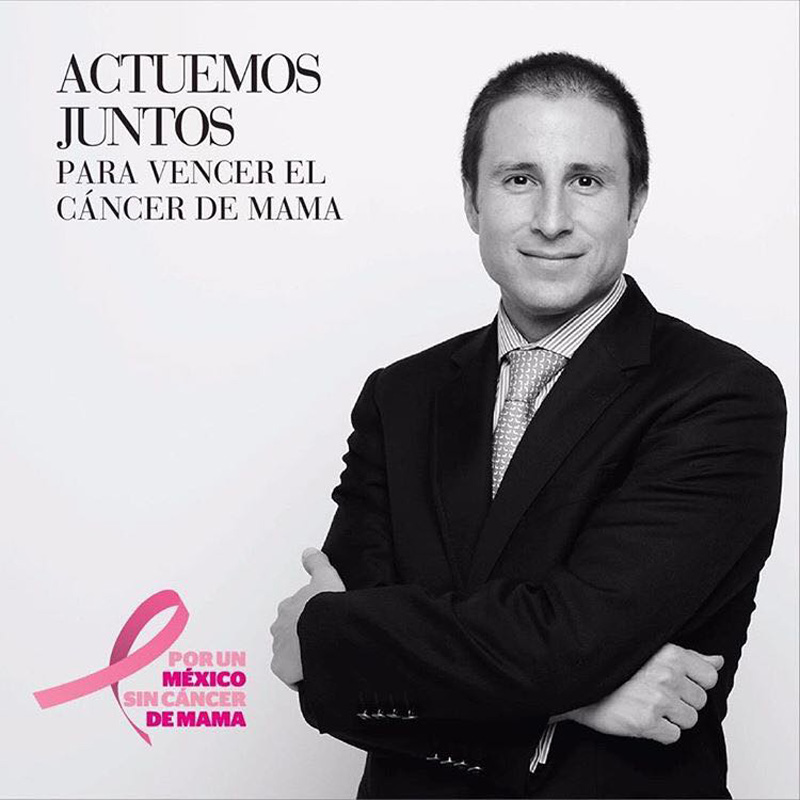 Josemaria Bolio Cancer Mama