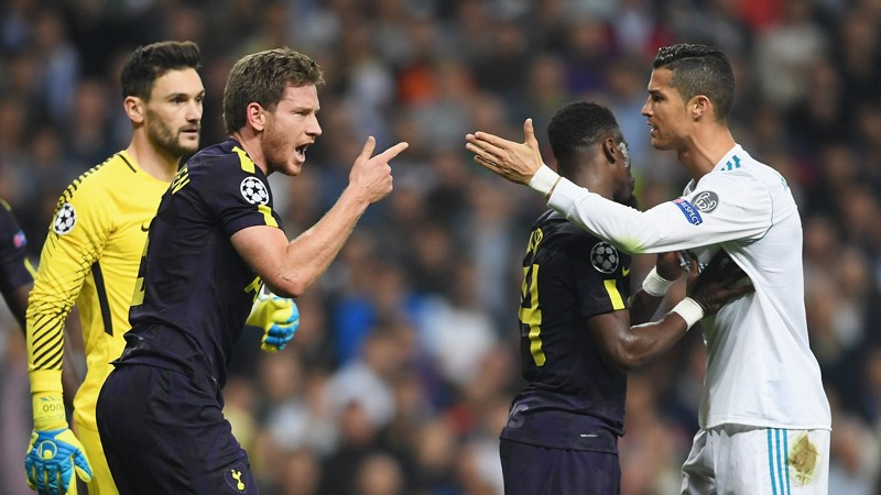 Real Madrid Tottenham Hotspur Champions
