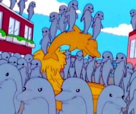 Escena Capítulo de Los Simpsons