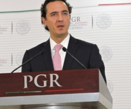 Elías Beltran, encargado PGR