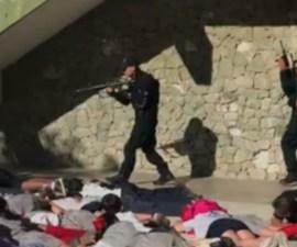 Niños de BC Sur son entrenados contra balaceras