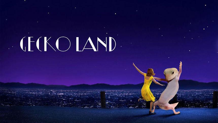 Dave el gecko - La La Land
