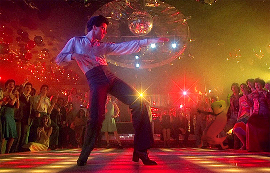 Dave el gecko - John Travolta