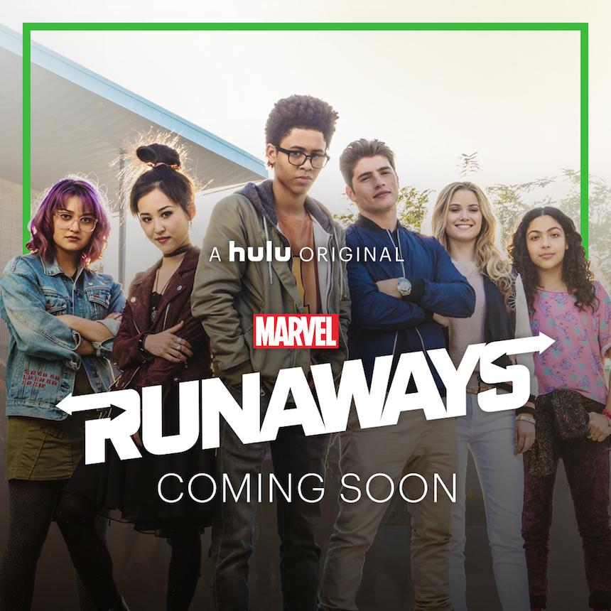 Póster - Marvel Runaways