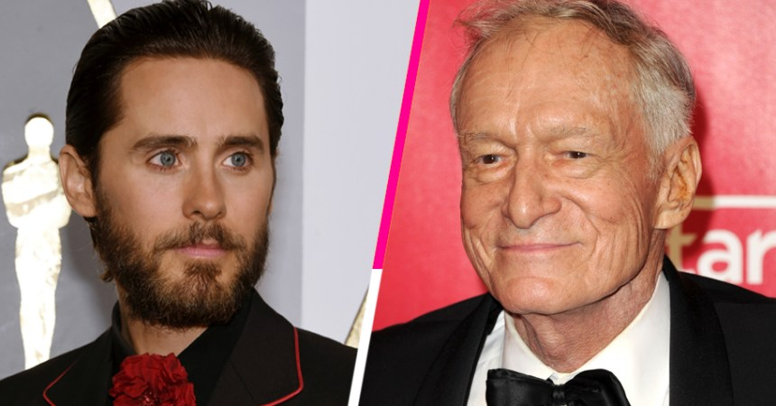Jared Leto interpretará a Hugh Hefner en su nueva biopic
