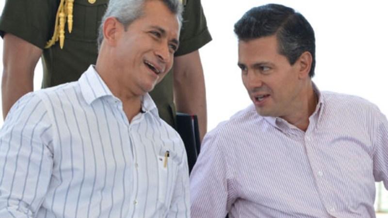 Mario Anguiano y EPN