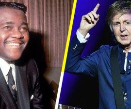 """Paul McCartney rinde tributo a Fats Domino y lo llama """"una gran influencia"""" en The Beatles"""