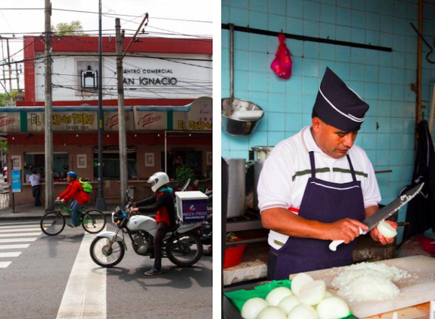 Tacos en la Ciudad de México - Rey del Taco