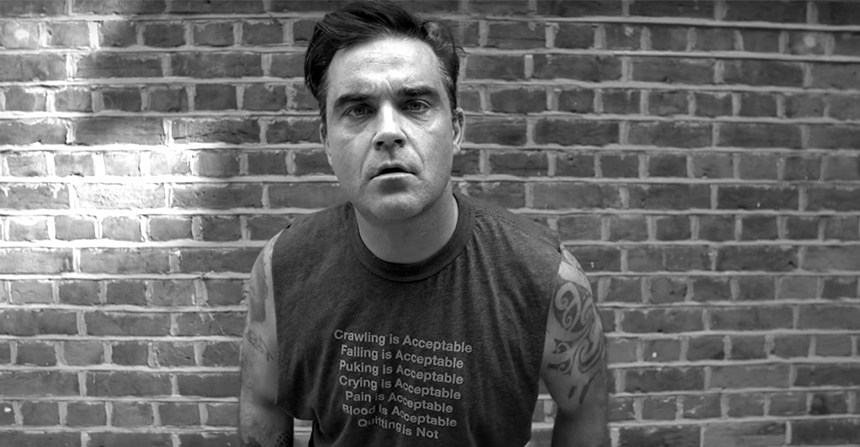 WTF?! con la nueva canción y video de Robbie Williams