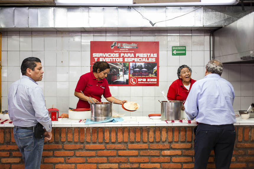 Tacos en la Ciudad de México - El Villamelón