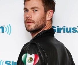 ¡Un verdadero superhéroe! Chris Hemsworth visitará México para ayudar a las víctimas del 19S