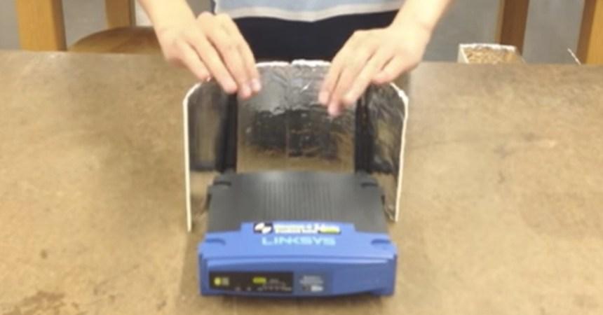 Uso de aluminio para mejorar el Wi-Fi