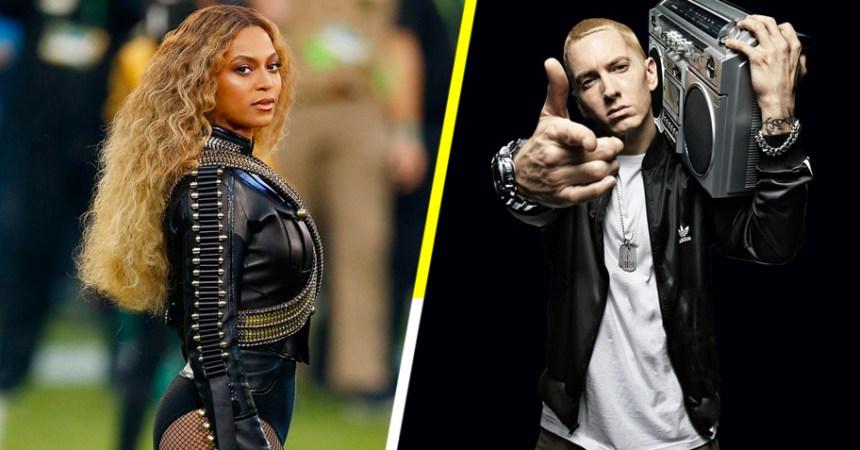 ¡Que alguien nos explique! ¡Eminem estrena canción con Beyoncé!