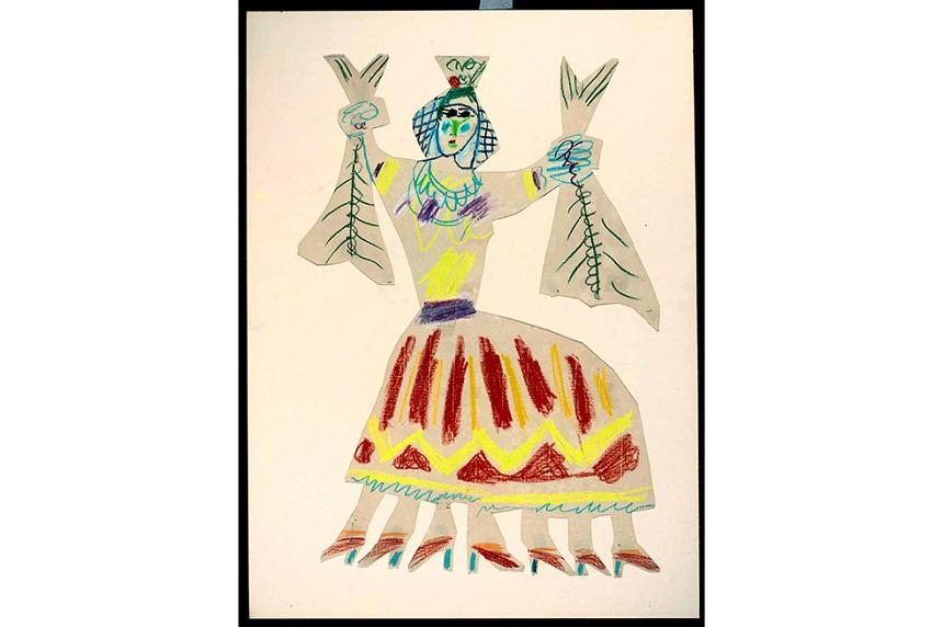 Dibujo de Pablo Picasso