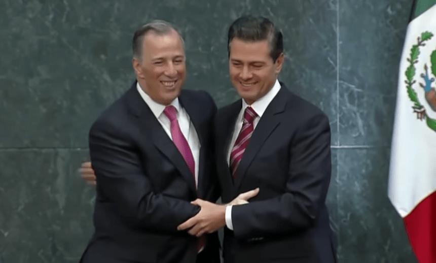 José Antonio Meade y Enrique Peña Nieto