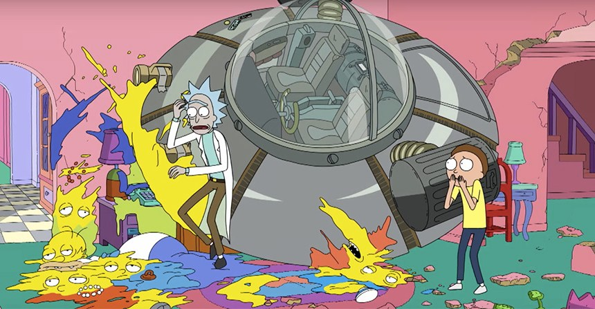 'The Simpsons' hacen una sutil referencia a 'Rick and Morty', ¿de qué se trata?