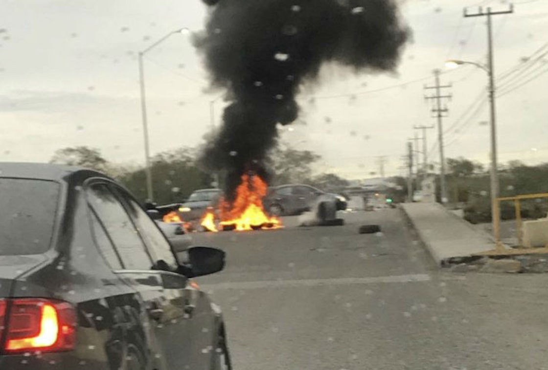 Reportan bloqueos en Reynosa, Tamaulipas