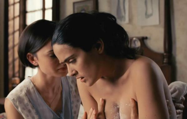 Frida fue la película que lanzó al estrellato en Hollywood a Salma Hayek.