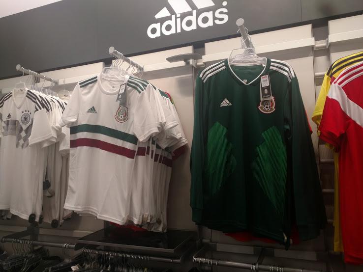 Aquí está la camiseta de visitante de México para el Mundial de Rusia 2018