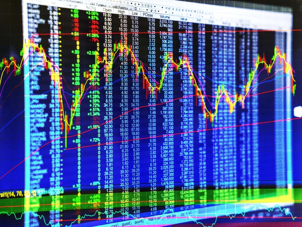 caída de la bolsa de valores