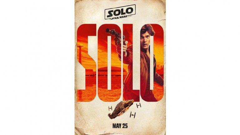 Este era uno de los pósters originales para Solo.