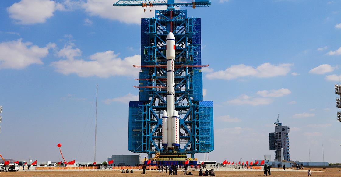 Una estación espacial China chocará contra la Tierra en unas semanas