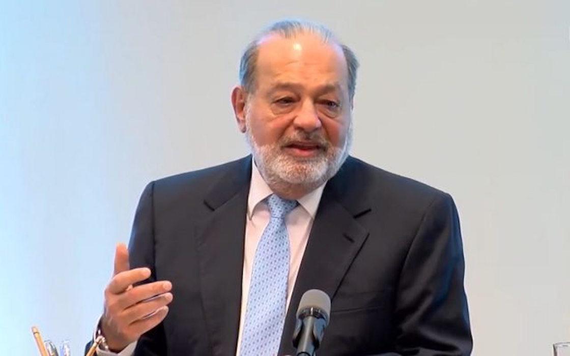 Carlos Slim conferencia NAICM