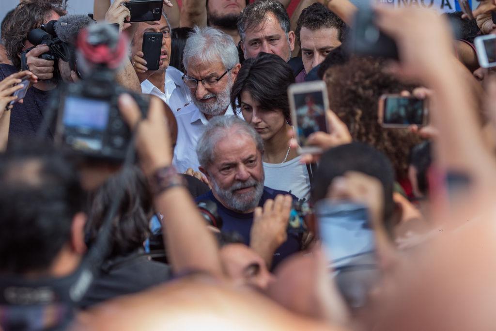 Lula da Silva arrestado