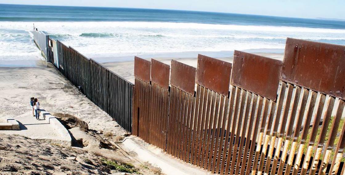 Muro frontera México Estados Unidos Pentágono