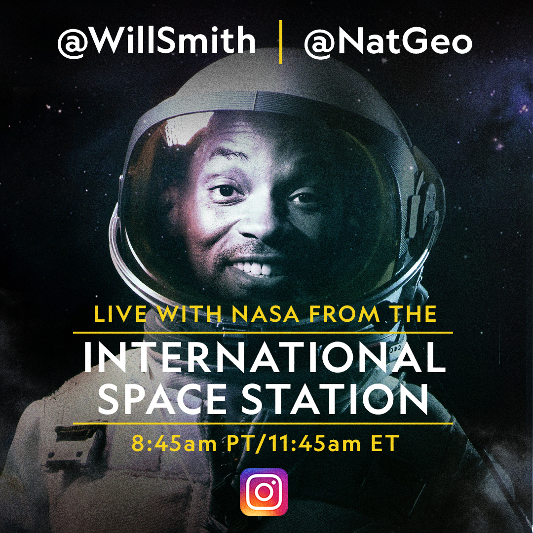 Will Smith entrevista a astronauta