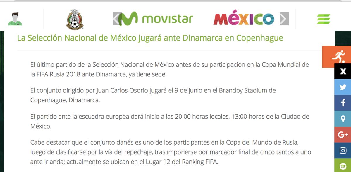 México-Dinamarca