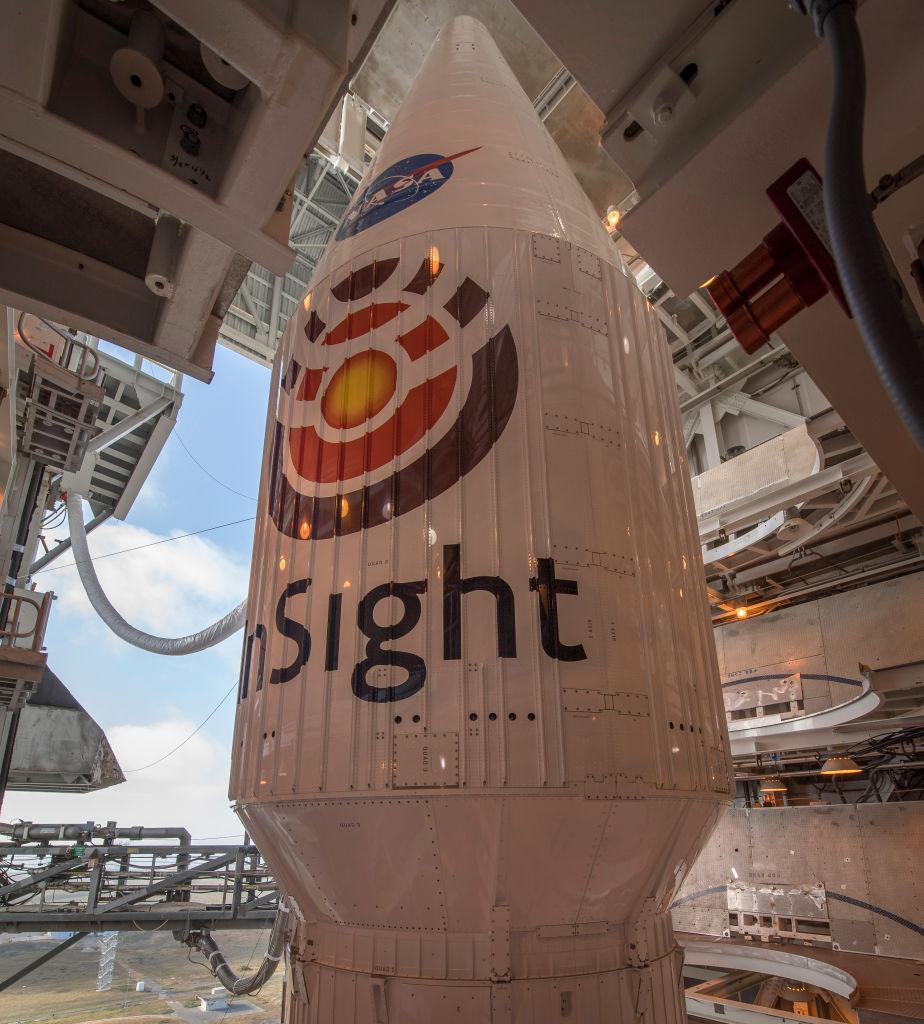NASA manda sonda InSight a Marte