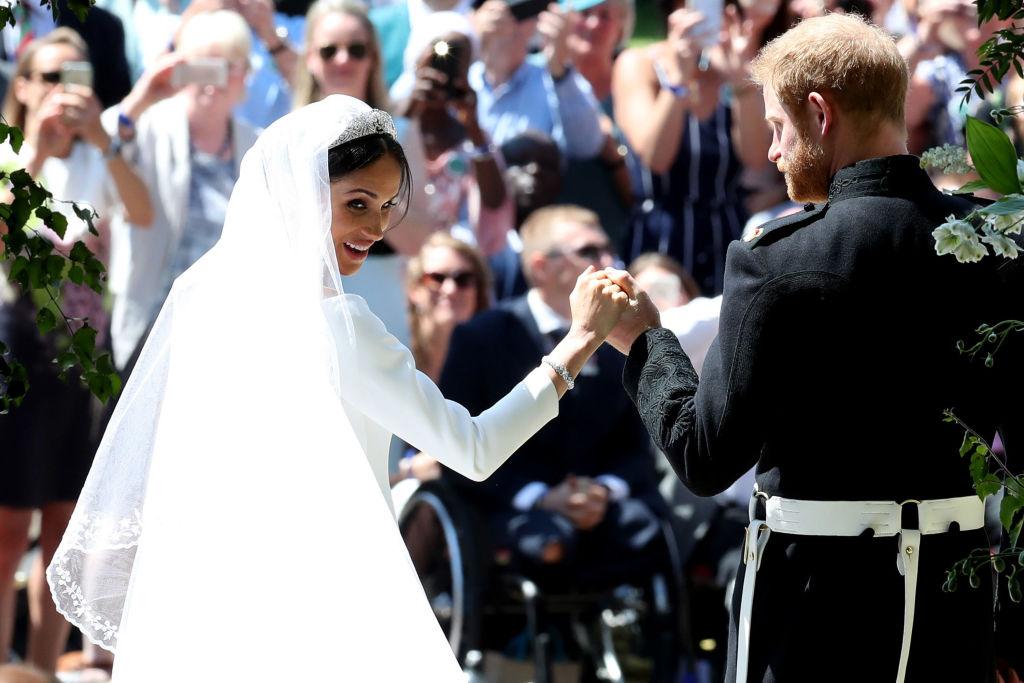 En fotos: así se vive la boda real de Meghan Markle y el príncipe Harry
