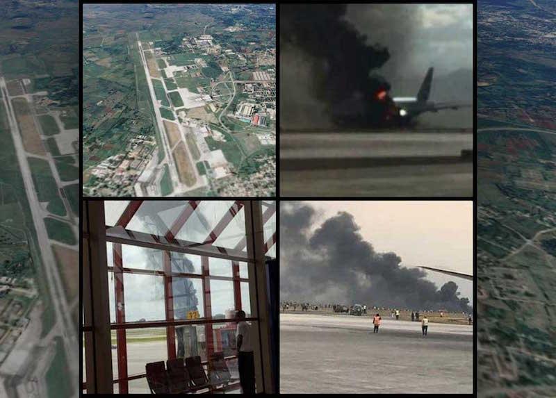 Avión comercial Boeing 737 se estrella en Aeropuerto de La Habana