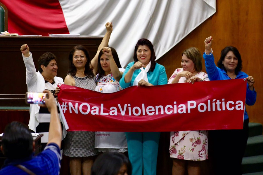 Violencia política Cámara de Diputados