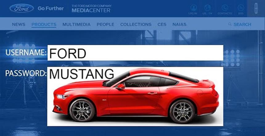 passwords con nombres de autos